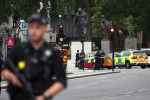 Lao xe vào khu vực tòa nhà Quốc hội Anh, nhiều người bị thương