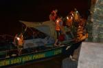 Chìm tàu hàng, 7 thuyền viên trôi dạt trên biển Hải Phòng trong đêm
