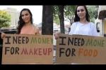 Hot girl muốn mua mỹ phẩm và cô gái vô gia cư cần thức ăn, ai sẽ được cho tiền?