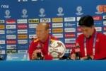 Thầy Park khiêm tốn tại họp báo trước trận Việt Nam vs Iraq