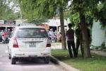 Tài xế chết trong taxi bốc khói: Cảnh sát thu giữ bình xăng và bật lửa