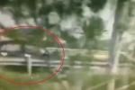 Ôtô phóng ngược chiều 100km/h trên cao tốc Nội Bài - Lào Cai