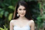 Diện trang phục đơn giản, Á hậu Thùy Dung vẫn khoe khéo vòng 1 gợi cảm