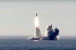 Video: Chiêm ngưỡng sức mạnh tên lửa đạn đạo Bulava phóng từ tàu ngầm hạt nhân của Nga