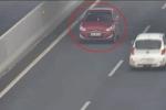 Clip: Ô tô chạy ngược chiều kiểu 'tự sát' trên cao tốc Hà Nội - Hải Phòng