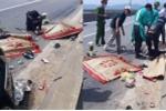 Xe máy tông xe đầu kéo, thai phụ và con gái chết thương tâm