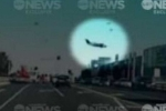 Khoảnh khắc máy bay lao xuống trung tâm thương mại Australia