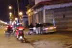 Truy tìm tài xế xe sang gây tai nạn rồi tăng ga bỏ chạy trên phố Hà Nội