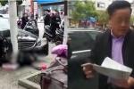 Clip: Đâm chết người đi bộ, tài xế Mercedes thản nhiên mỉm cười vì 'có bảo hiểm'