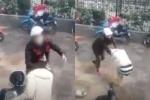 Thai phụ bị đánh đập dã man trước cổng Văn Miếu, nhiều người phẫn nộ