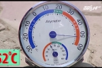 Mặt đường Hà Nội nóng rẫy, nhiệt độ hơn 50°C