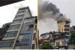 Cháy lớn ngôi nhà 9 tầng ở phố Hào Nam, Hà Nội: Chủ nhà đốt vàng mã rồi bỏ đi