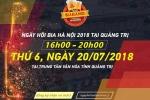 Nguoi dan Quang Tri no nuc ru nhau toi Ngay hoi Bia Ha Noi 2018 hinh anh 4