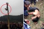 Nam thanh niên rơi từ ngọn chuối xuống đất bất tỉnh trong lễ hội xuân: Lãnh đạo xã nói gì?