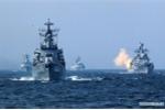 Hải quân Nga, Trung tập trận rầm rộ sát biên giới Triều Tiên