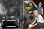 Chuyện tình của người lính lái xe tăng húc đổ cổng Dinh Độc Lập