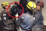 Clip: Chui ống khói đột nhập nhà hàng, trộm mắc kẹt phải cầu cứu cảnh sát