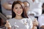 Ngắm người đẹp top 10 Hoa hậu hoàn vũ nghi đang hẹn hò sao U23 Việt Nam
