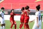 Trực tiếp Việt Nam vs Thái Lan, bóng đá nữ ASIAD 2018