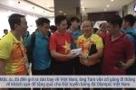 Clip: Olympic Việt Nam được thưởng nóng tại khách sạn sau chiến tích lịch sử