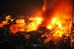 Cháy chợ ở Cà Mau, 11 ki ốt bị thiêu rụi trong đêm