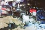 Gây tai nạn liên hoàn rồi bị chặn lại, tài xế BMW 'bơi' giữa phố Đà Nẵng