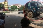 Xe đạp điện va chạm xe tải, 2 nữ sinh lớp 10 thương vong ở Vĩnh Phúc 1