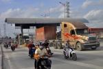 Trạm thu phí xa lộ Hà Nội dừng hoạt động từ ngày 1/1/2018
