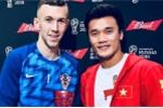 Thủ môn Bùi Tiến Dũng trao danh hiệu cầu thủ xuất sắc nhất bán kết World Cup cho Perisic
