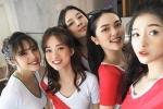 'Bỏng mắt' ngắm dàn hot girl Việt cổ vũ World Cup 2018