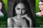 Hương Giang Idol phải dè nể những mỹ nhân này tại 'Hoa hậu Chuyển giới Quốc tế 2018'