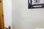 Sập nhà vùi lấp nhiều người ở Hà Nội: Tường nhà liền kề bị rạn nứt