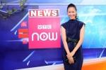 Hoa hậu Dương Thùy Linh rủ khán giả ngắm mình trên điện thoại qua VTC Now