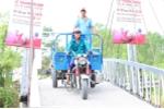 Trà Dr Thanh trao cây cầu ước mơ cho bà con Khmer trước Tết Nguyên đán