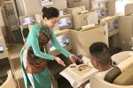 Vietnam Airlines tiep tuc chinh phuc hanh khach bang buc tranh am thuc nhieu mau sac hinh anh 1