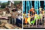 Khán giả nổi giận vì Hoa hậu Hoàn vũ phát sóng trực tiếp trong mưa bão, VTV né tránh trả lời