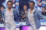 Mai Ngô diện mốt không nội y, nhảy múa trên truyền hình