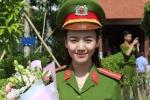 Nụ cười tỏa nắng của hot girl cảnh sát trong ngày tốt nghiệp