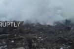 Máy bay Thổ Nhĩ Kỳ lao xuống khu dân cư, ít nhất 37 người chết