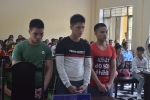 Chém chết bảo vệ trường học, 3 thanh niên lĩnh án