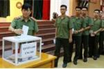 Học viện An ninh nhân dân ủng hộ đồng bào miền Trung sau cơn bão số 10