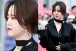 Goo Hye Sun mặt phù, tăng 10 kg sau thời gian điều trị bệnh