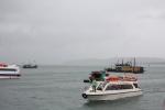3.500 khách mắc kẹt ở đảo Cô Tô do ảnh hưởng của bão số 2