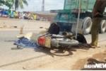 Chạy xe máy lên Sài Gòn sau Tết, 2 phụ nữ bị container cán chết