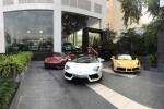 Siêu xe tiền tỷ Lamborghini, Ferrari hội tụ ở Hà Nội