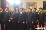 Ảnh: Các đoàn lãnh đạo Đảng, Nhà nước viếng nguyên Thủ tướng Phan Văn Khải