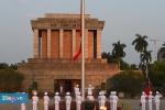 Video: Lễ thượng cờ rủ quốc tang nguyên Thủ tướng Phan Văn Khải