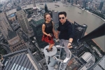 Video: Cặp phượt thủ liều mạng chỉ để chụp ảnh selfie câu like