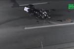 Cảnh sát Mỹ bị tông trong lúc hộ tống xe chở Thủ tướng Canada