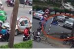 Ô tô bán tải lùi ngược chiều, đâm chết người phụ nữ đi xe đạp ở Nghệ An